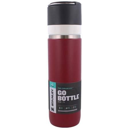Butelka termiczna Stanley GO Bottle CeramiVac bordowa 0,7L