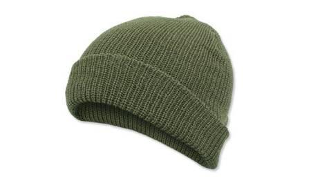 Czapka Watch Cap -  100% Wełna - Zielony    100% Wełna - Zielony - Mil-Tec