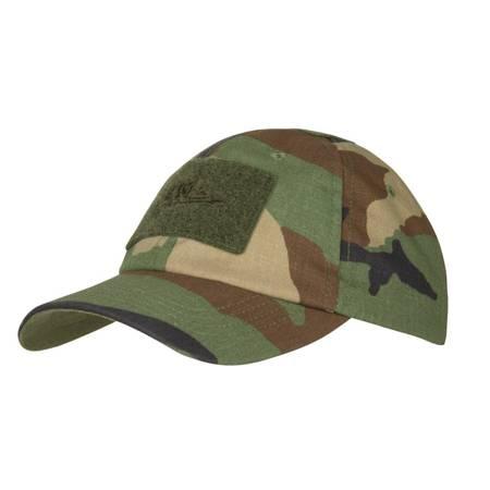 Czapka z daszkiem Tactical Cap - Woodland - Helikon-Tex