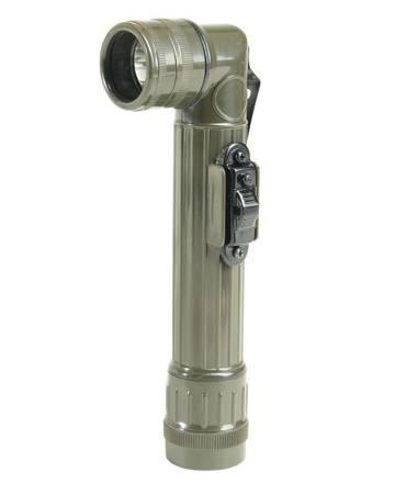 Latarka Kątowa R20 - Zielony OD - LED - Mil-Tec