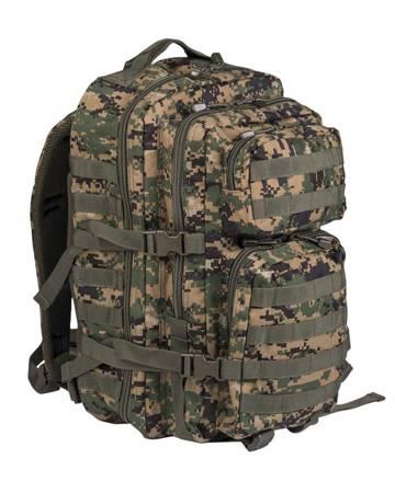Plecak Large Assault Pack - Digital Woodland - Mil-Tec