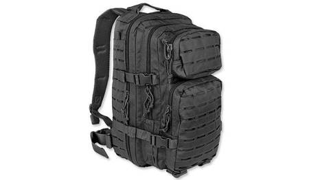 Plecak Small Assault Pack Laser Cut - Czarny - Mil-Tec