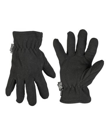 Rękawiczki Polarowe - Czarny - Mil-Tec