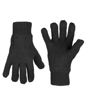 Rękawiczki Thinsulate - Czarny - Mil-Tec