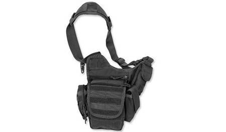 Torba Wielofunkcyjna Sling Bag - Czarny - Mil-Tec